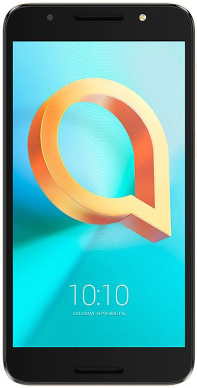 Alcatel OT-5011A A3 Plus 3G, Metallic Black