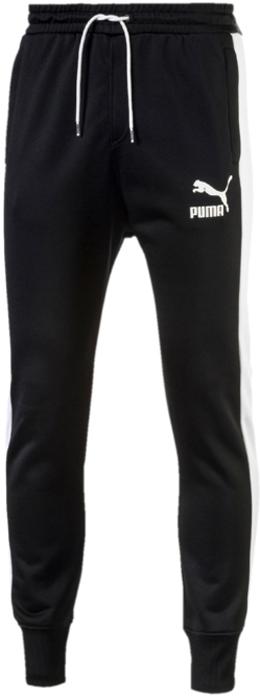 Брюки мужские Puma Archive T7 Track Pants, цвет: черный. 57265701. Размер XXL (52/54)