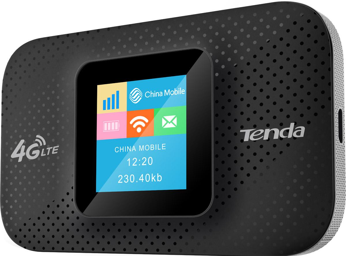 Tenda 4G185 маршрутизатор4G185Маршрутизатор Tenda 4G185 4G FDD LTE 150Мбит/с портативный роутер, оснащен 2100mAh перезаряжаемой ба