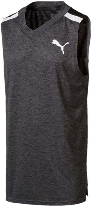 Майка мужская Puma BND Tech SLVS Tee, цвет: темно-серый. 51633301. Размер XXL (52/54) футболка puma футболка bonded tech ss tee