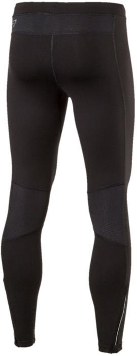 """Спортивные брюки Puma """"Core-Run Long Tight"""" изготовлены с использованием высокофункциональной технологии dryCELL, которая отводит влагу и гарантирует комфорт во время активных тренировок и занятий спортом. Логотип PUMA и другие детали из светоотражающего материала позаботятся о вашей безопасности в темное время суток. Сетчатые вставки в местах возможного перегрева обеспечивают отличную вентиляцию. Карман с брелоком для ключей удобен и вместителен. Застежки-молнии на шлицах по низу штанин позволяют легко снимать и надевать эти брюки."""