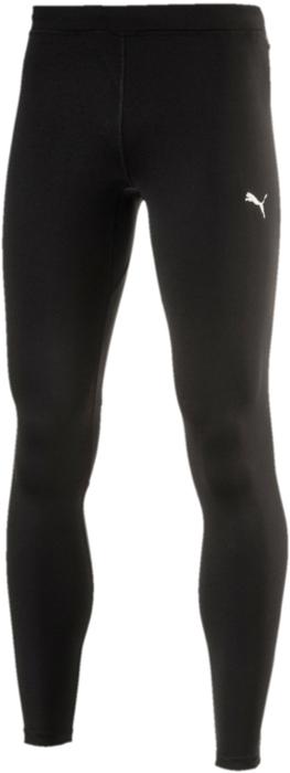 Тайтсы мужские Puma Core-Run Long Tight, цвет: черный. 51501601. Размер XL (50/52)51501601Спортивные брюки Puma Core-Run Long Tight изготовлены с использованием высокофункциональной технологии dryCELL, которая отводит влагу и гарантирует комфорт во время активных тренировок и занятий спортом. Логотип PUMA и другие детали из светоотражающего материала позаботятся о вашей безопасности в темное время суток. Сетчатые вставки в местах возможного перегрева обеспечивают отличную вентиляцию. Карман с брелоком для ключей удобен и вместителен. Застежки-молнии на шлицах по низу штанин позволяют легко снимать и надевать эти брюки.