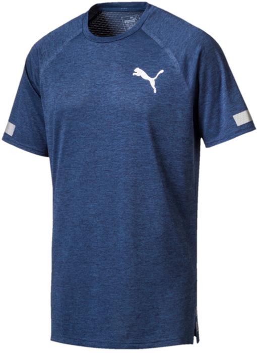 Футболка мужская Puma BND Tech SS Tee, цвет: синий. 51633505. Размер XXL (52/54) футболка puma футболка bonded tech ss tee