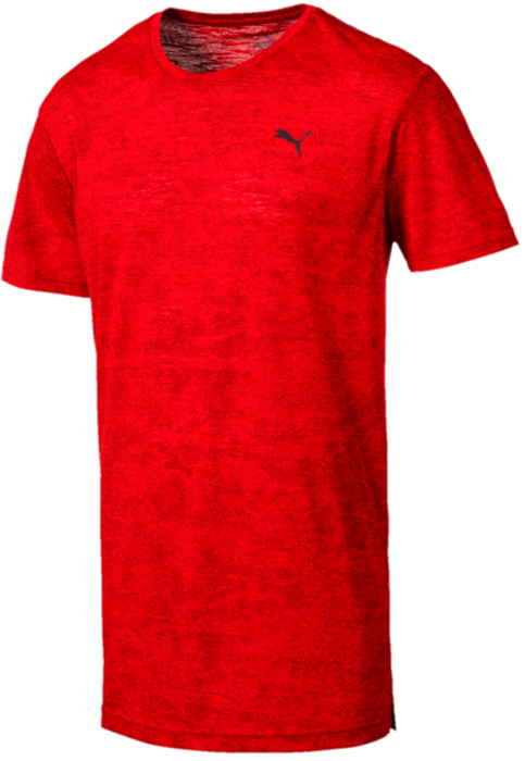 Футболка мужская Puma Drirelease Graphic Tee, цвет: красный. 51634802. Размер XXL (52/54) graphic print ringer tee