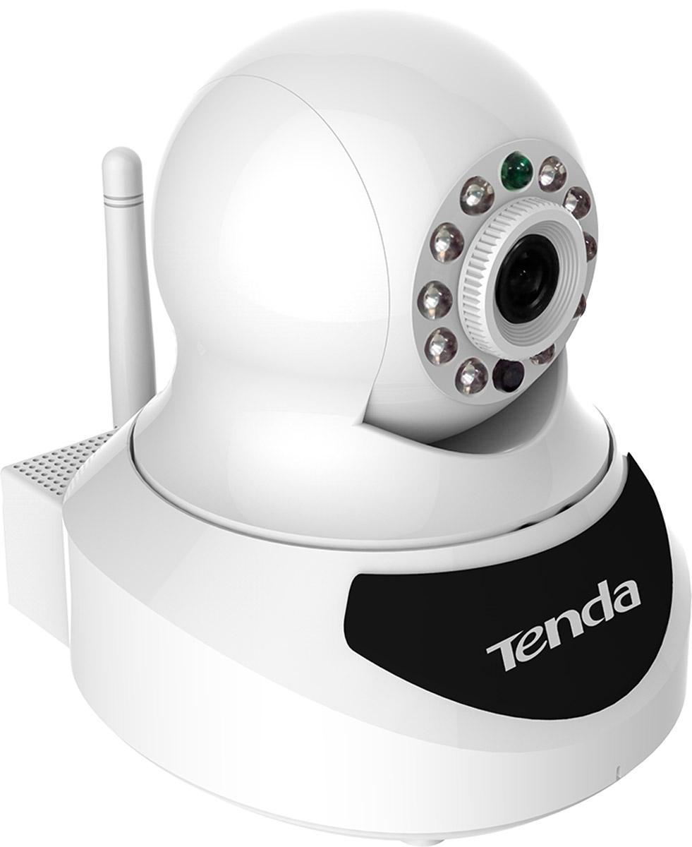 Tenda C50S беспроводная поворотная HD камераC50SКамера Tenda C50S Беспроводная поворотная HD камера (APP для Apple и Android, 720P@25fps, микрофон,