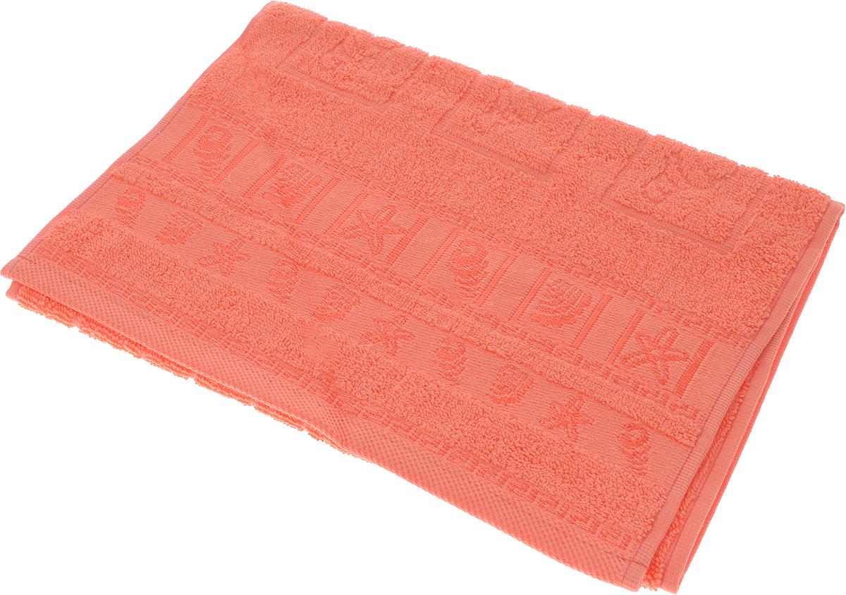 Полотенце махровое Португалия Shell, цвет: коралловый, 33 x 70 см439259Махровые полотенца Португалия производятся из 100% хлопка - экологически чистого природного материала. Мягкое, легкое на ощупь, оно не намокает, а впитывает влагу, очень быстро сохнет.
