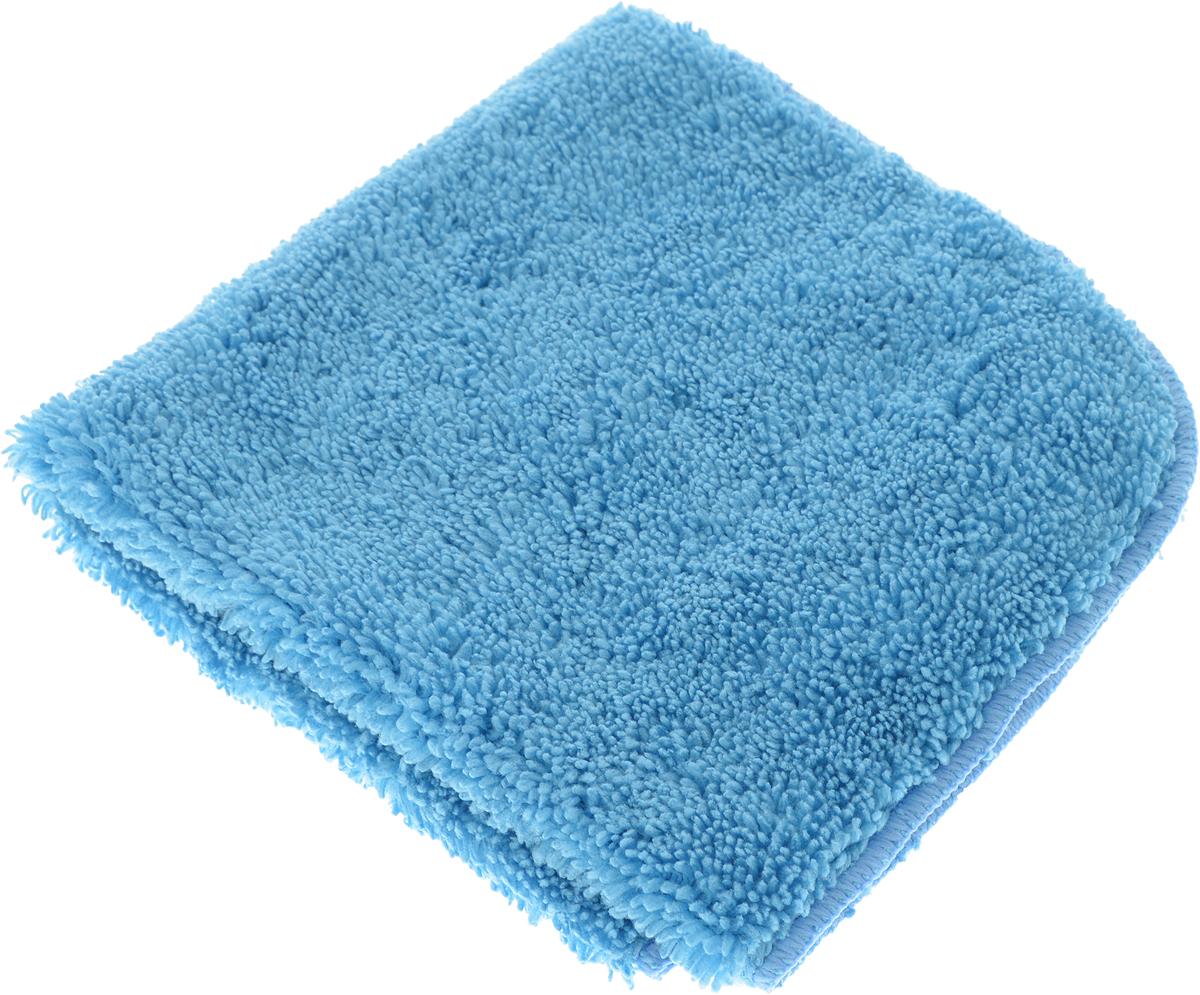 Салфетка для уборки Meule Premium, универсальная, цвет: голубой, 30 х 30 см салфетка meule для уборки стеклянных и зеркальных поверхностей 30 х 30 см