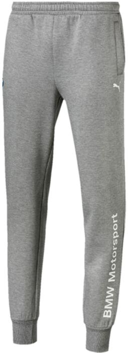 Брюки мужские Puma BMW MS Logo Sweat Pants, цвет: серый. 57609203. Размер XL (50/52)