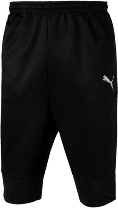 Шорты мужские Puma ftblNXT 3 4 Pant, цвет: черный. 65556701. Размер XL (50/52)