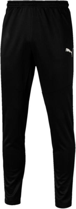 Брюки мужские Puma ftblNXT Pant, цвет: черный. 65501. Размер XXL (52/54)65501Спортивные брюки Puma ftblNXT Pant изготовлены из высоко функционального материала dryCELL, декорированы логотипом PUMA, нанесенным методом термопечати на левую штанину. Анатомический крой и фигурная ластовица способствуют полной свободе движений. Высокий пояс снабжен затягивающимся шнуром. Имеются два боковых кармана на молниях. Фасон в обтяжку по фигуре с зауженными штанинами. Подходят на все случаи жизни! Прогрессивная коллекция футбольной экипировки ftblNXT гарантирует максимум удобства для футболистов в дни матчей, на тренировках и на отдыхе.