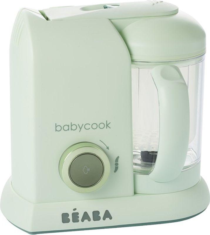 Beaba Блендер-пароварка Babycook Macaron цвет мятный