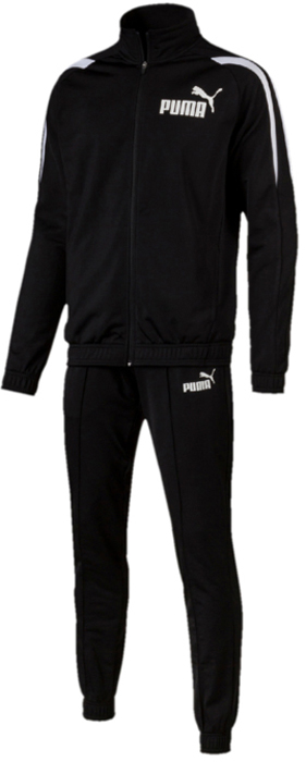 Костюм спортивный мужской Puma Sports Tricot Suit CL., цвет: черный. 59484501. Размер XXL (52/54) спортивный костюм женский puma classic sweat suit cl цвет малиновый черный 59250228 размер l 46 48