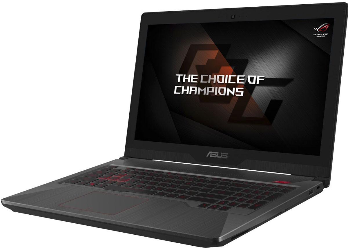 ASUS ROG FX503VD (FX503VD-E4261)FX503VD-E4261Ноутбук ASUS FX503VD - это мощный мобильный компьютер, оснащенный процессором Intel Core седьмогопоколения и видеокартой NVIDIA GeForce GTX 10-й серии. Благодаря аккумулятору высокой емкости его можноиспользовать целый день, не думая о подзарядке, а интеллектуальная система охлаждения позаботится о том,чтобы устройство не перегревалось даже во время интенсивных игровых сессий. Легкий и компактный - этотвысокопроизводительный ноутбук может сопровождать вас в любой поездке, позволяя продуктивно работатьи интересно отдыхать!Ноутбук ASUS FX503VD оснащен новейшим процессором Intel Core i5 седьмого поколения и видеокартой NVIDIAGeForce GTX 1050 с полной поддержкой Microsoft DirectX 12 - и все это в стильном и легком корпусе. Под статьпроизводительности и система питания - аккумулятор высокой емкости позволит проводить длительныеигровые сессии без подключения к электросети. Работа, учеба, развлекательные приложения, игры - ноутбукуFX503VD по силам любые задачи!Конструкция клавиатуры продумана столь же тщательно, как и все остальные элементы ноутбука ASUSFX503VD. Клавиши ножничного типа имеют удобную для набора текста глубину хода (1,8 мм), а ярко-краснаяподсветка позволит комфортно использовать устройство даже ночью. Специально выделенная геймерскаякомбинация WASD, независимая обработка нажатия каждой клавиши, широкий пробел, изолированныестрелки и эргономичный 0,25-миллиметровый изгиб поверхности клавиш - все это предусмотрено для точногои удобного управления в компьютерных играх.Ноутбук FX503VD обладает ультрапортативной конструкцией и стильным тонким корпусом толщиной всего 2,4см, а благодаря удивительно малому весу (2,5 кг) он будет едва ощутим при переноске в сумке или рюкзаке.Ноутбук ASUS FX503VD оснащен IPS-дисплеем с диагональю 15,6 дюйма и разрешением Full HD. Он обладаетвысокой контрастностью, а широкие углы обзора позволяют видеть цвета без искажений даже при взглядепочти параллельно экрану. Матовое покрытие дисплея м