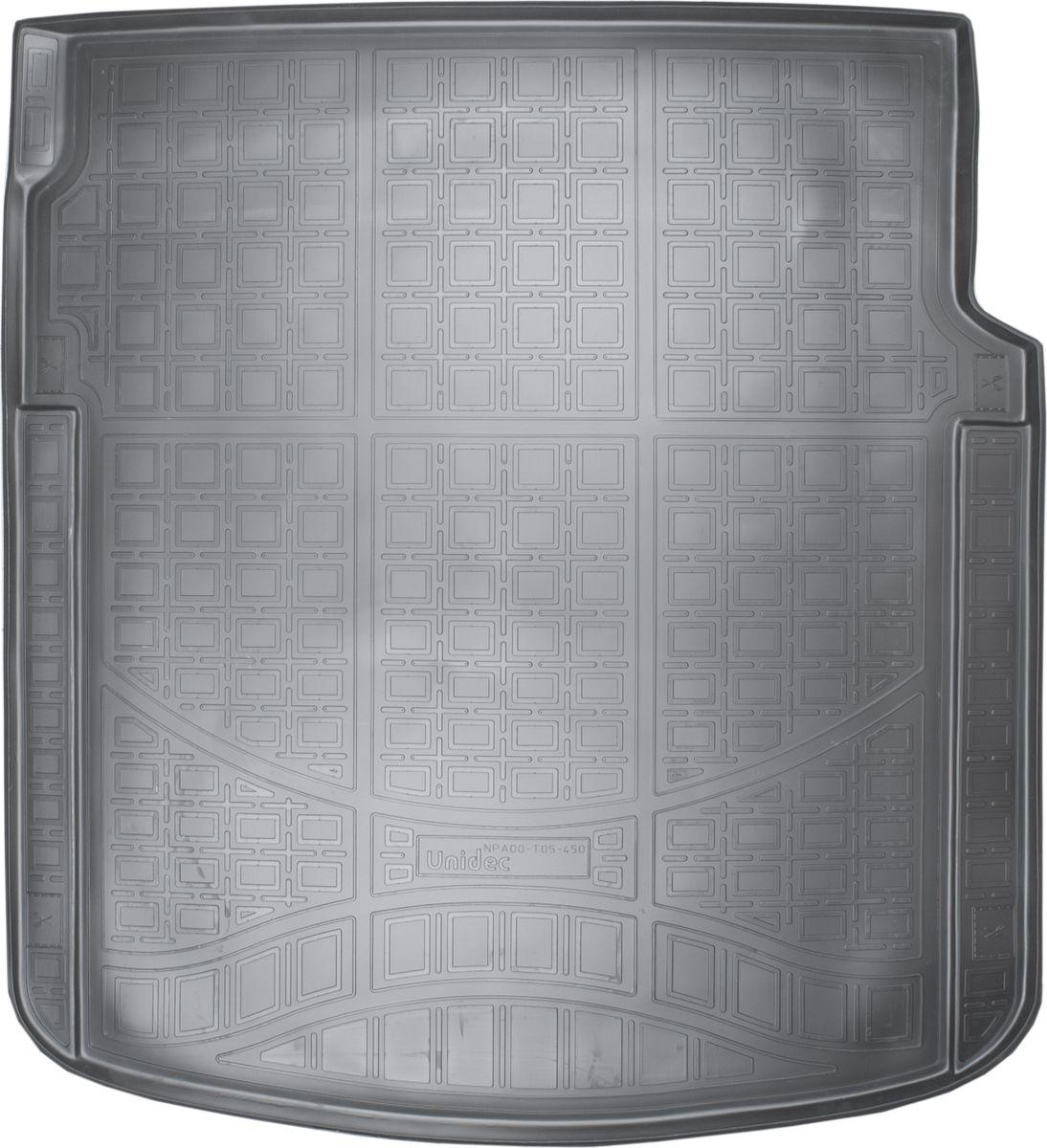 Ковер автомобильный NorPlast, в багажник, для Audi A7, 2010-, 4G:C7 HB, полиуретанNPA00-T05-450Прочные и долговечные коврики в салон автомобиля NorPlast, изготовленный из высококачественного и экологичного сырья, полностью повторяет геометрию салона автомобиля. - Надежная система крепления, позволяющая закрепить коврик на штатные элементы фиксации, в результате чего отсутствует эффект скольжения по салону автомобиля. - Высокая стойкость поверхности к стиранию. - Специализированный рисунок и высокий борт, препятствующие распространению грязи и жидкости по поверхности коврика. - Перемычка задних ковриков в комплекте предотвращает загрязнение тоннеля карданного вала. - Произведены из первичных материалов, в результате чего отсутствует неприятный запах в салоне автомобиля. - Высокая эластичность, можно беспрепятственно эксплуатировать при температуре от -45°C до +45°C.