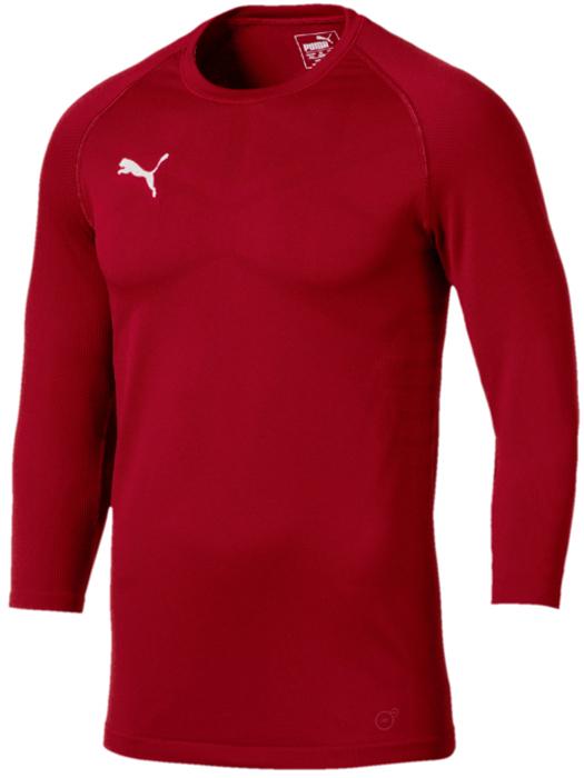 Лонгслив мужской Puma ftblNXT 3 4 Baselayer, цвет: темно-красный. 65568301. Размер XXL (52/54) стоимость