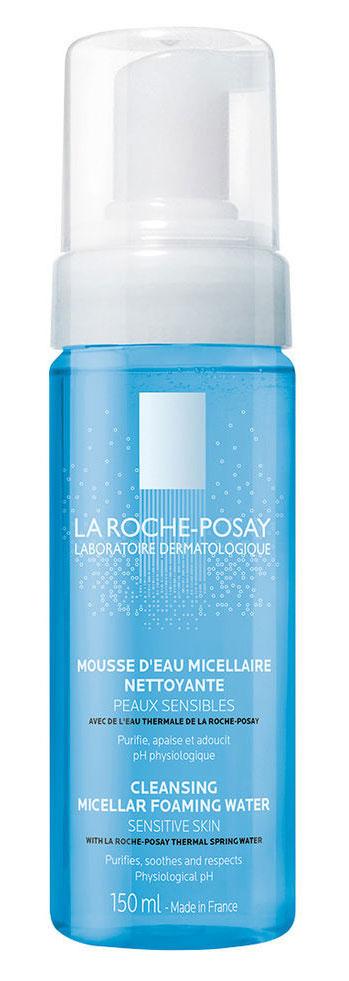La Roche-Posay Очищающая пенка для лица Physiological Cleansers 150 млM3558000Первая очищающая пенка, которая мягко очищает чувствительную кожу, сохраняя ее физиологический баланс. Мягкое и нежное очищение чувствительной кожи лица и шеи. Разработано специально для ежедневного применения. Физиологическая очищающая пенка La Roche-Posay мягко снимает макияж с чувствительной кожи. Благодаря тщательно подобранному и физиологичному составу, пенка обладает оптимальной переносимостью и высокой очищающей способностью для снятия макияжа. Физиологически нейтральный рН, не содержит мыла, спирта, красителей и парабенов.