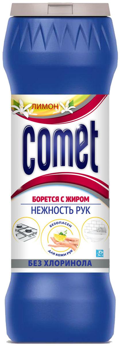 Порошок чистящий Comet Лимон, без хлоринола, 475 г гель чистящий comet лимон 500 мл