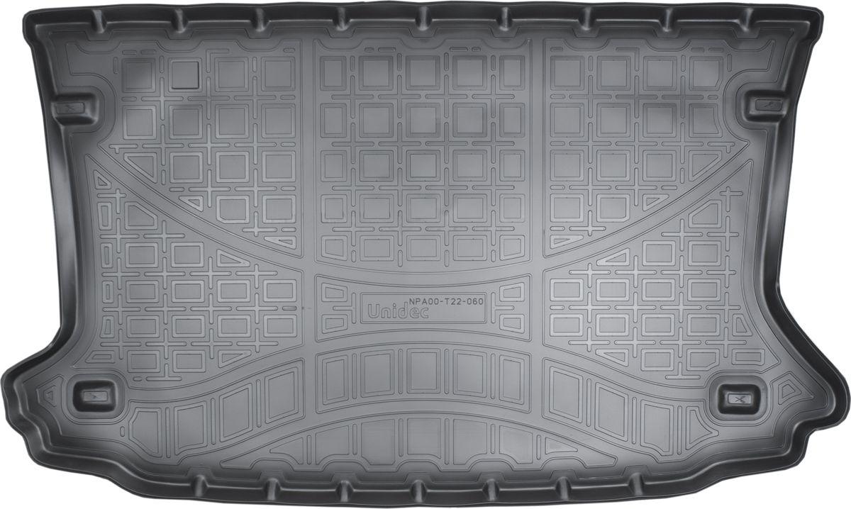 Ковер автомобильный NorPlast, в багажник, для Ford EcoSport, 2014-, полиуретанNPA00-T22-060Прочные и долговечные коврики в салон автомобиля NorPlast, изготовленный из высококачественного и экологичного сырья, полностью повторяет геометрию салона автомобиля. - Надежная система крепления, позволяющая закрепить коврик на штатные элементы фиксации, в результате чего отсутствует эффект скольжения по салону автомобиля. - Высокая стойкость поверхности к стиранию. - Специализированный рисунок и высокий борт, препятствующие распространению грязи и жидкости по поверхности коврика. - Перемычка задних ковриков в комплекте предотвращает загрязнение тоннеля карданного вала. - Произведены из первичных материалов, в результате чего отсутствует неприятный запах в салоне автомобиля. - Высокая эластичность, можно беспрепятственно эксплуатировать при температуре от -45°C до +45°C.