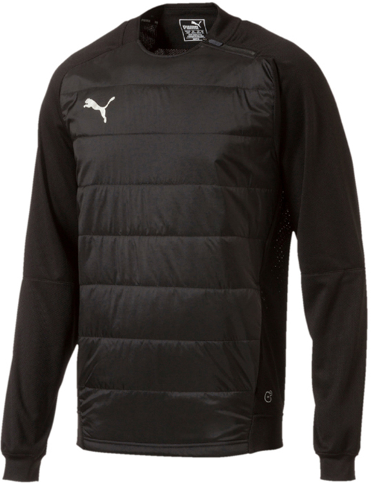 Толстовка мужская Puma ftblNXT Sweat Top, цвет: черный. 65555301. Размер L (48/50)