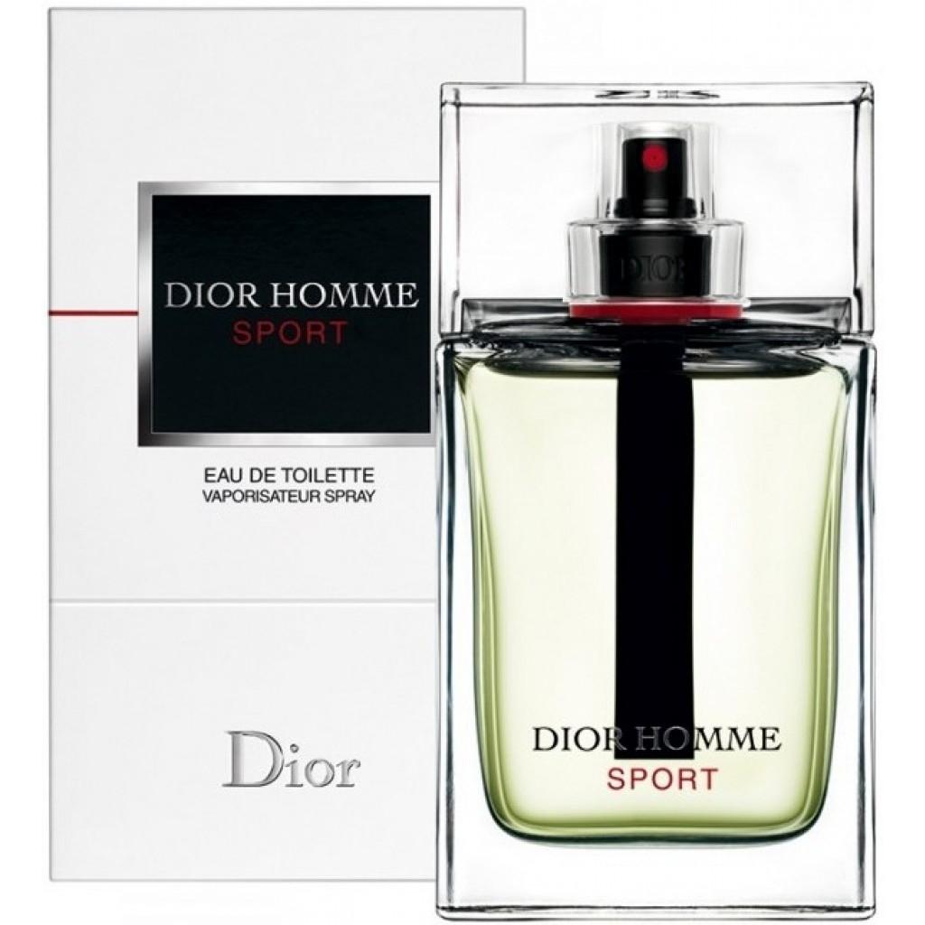 Christian Dior Homme Sport Туалетная вода мужская, 125 мл dior dior дезодорант стик homme 75 г