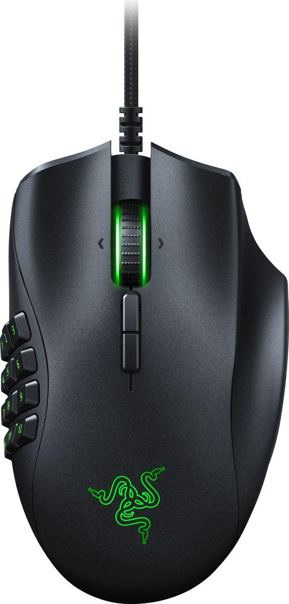 Razer Naga Trinity, Black мышь игроваяRZ01-02410100-R3M1Оцените мощные возможности тотального контроля, в какую бы игру вы ни играли. Мышь Razer Naga Trinity,призванная обеспечить преимущество в MOBA/многопользовательских онлайн-играх, позволяет вам настраиватьвсе: от вооружений до индивидуальных конфигураций, чтобы постоянно опережать соперников. Razer Naga Trinityоснащена тремя сменными боковыми панелями, что позволяет переключаться между 2-, 7- и 12-кнопочнымиконфигурациями в зависимости от ваших потребностей в игре.Благодаря оптическому сенсору 5G с разрешением 16 000 DPI движения мыши становятся стремительными иобрабатываются точно. Кроме того, вы получаете доступ к еще большему числу команд благодаря возможностипрограммирования до 19 кнопок. Усовершенствованная конструкция для правшей, удобные, оптимальнорасположенные, легко срабатывающие кнопки позволят играть много часов подряд, не чувствуя усталости.Razer Naga Trinity спроектирована с улучшенной формой для правшей, поэтому вы сможете применять заклинаниядо глубокой ночи. Мышь достаточно комфортна при многочасовом использовании, к тому же положение ее кнопоктщательно подобрано, чтобы обеспечить невероятно удобный доступ и нажатие.Благодаря возможности выбора любого из 16,8 млн вариантов оттенков настройте свою мышь Razer Naga Trinityдействительно уникальным образом в соответствии с любимыми метаморфозами и цветами.