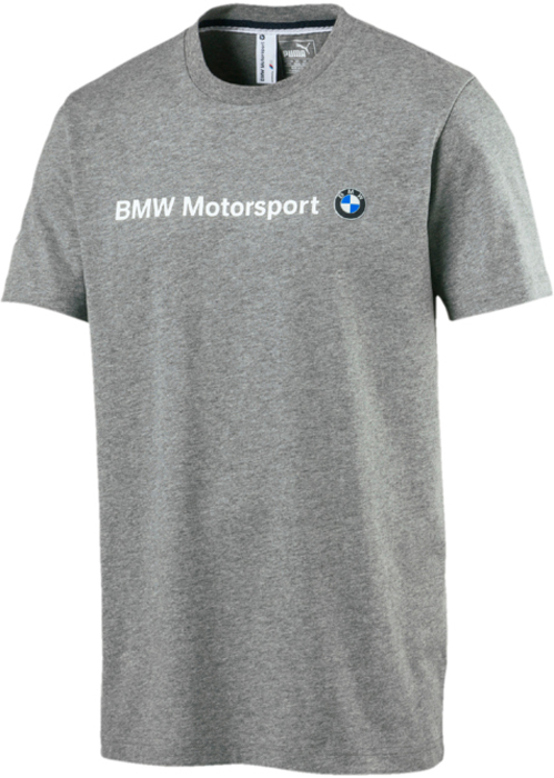 Футболка мужская Puma BMW MSP Logo Tee, цвет: серый. 57277213. Размер L (48/50) original access control card reader without keypad smart card reader 125khz rfid card reader door access reader manufacture