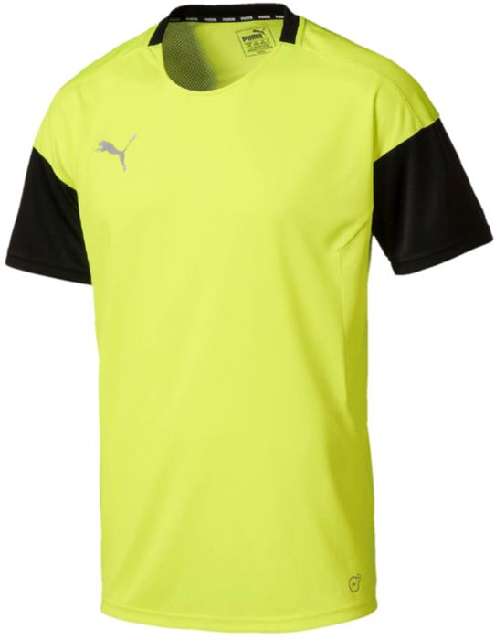 Футболка мужская Puma ftbl NXT, цвет: желтый. 65556104. Размер XL (50/52)