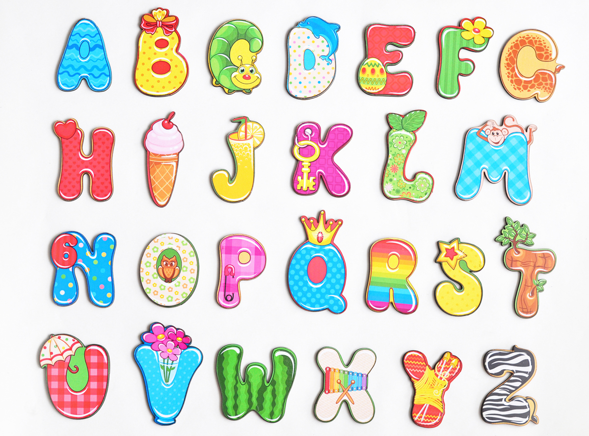 Фабрика Мастер игрушек Обучающая игра Магнитный алфавит Веселый Английский