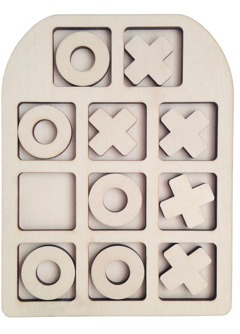 Фабрика Мастер игрушек Рамка-вкладыш Крестик-нолики Классические фабрика мастер игрушек рамка вкладыш водоем