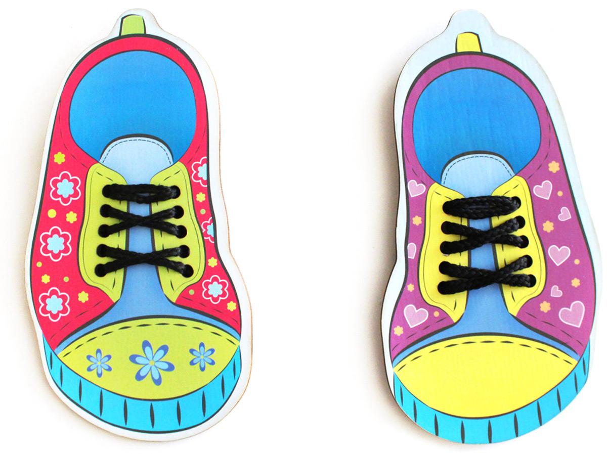 Фабрика Мастер игрушек Игра-шнуровка Обувь
