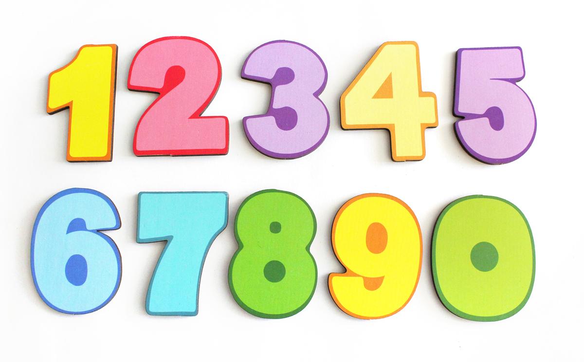 Фабрика Мастер игрушек Обучающая игра Магнитные цифры Цифры мастер игрушек сладкие цифры