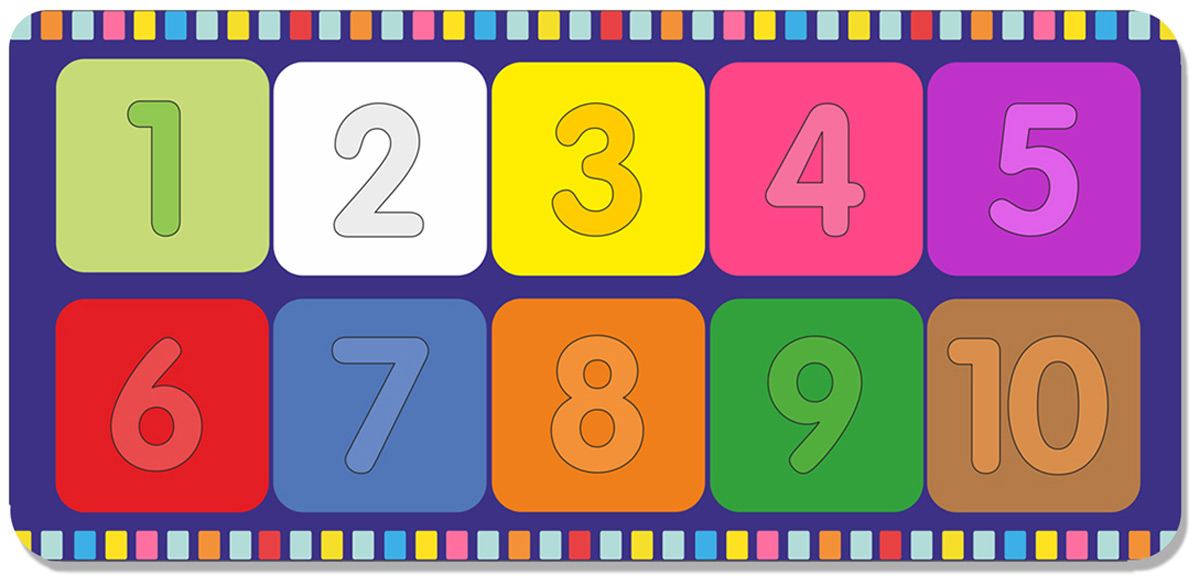 Фабрика Мастер игрушек Рамка-вкладыш Веселые цифры 2 мастер игрушек сладкие цифры