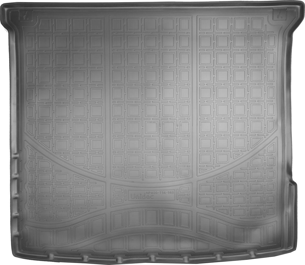 Ковер автомобильный NorPlast, в багажник, для Mercedes-Benz M, 2012-, W166, полиуретанNPA00-T56-560Прочные и долговечные коврики в салон автомобиля NorPlast, изготовленный из высококачественного и экологичного сырья, полностью повторяет геометрию салона автомобиля. - Надежная система крепления, позволяющая закрепить коврик на штатные элементы фиксации, в результате чего отсутствует эффект скольжения по салону автомобиля. - Высокая стойкость поверхности к стиранию. - Специализированный рисунок и высокий борт, препятствующие распространению грязи и жидкости по поверхности коврика. - Перемычка задних ковриков в комплекте предотвращает загрязнение тоннеля карданного вала. - Произведены из первичных материалов, в результате чего отсутствует неприятный запах в салоне автомобиля. - Высокая эластичность, можно беспрепятственно эксплуатировать при температуре от -45°C до +45°C.