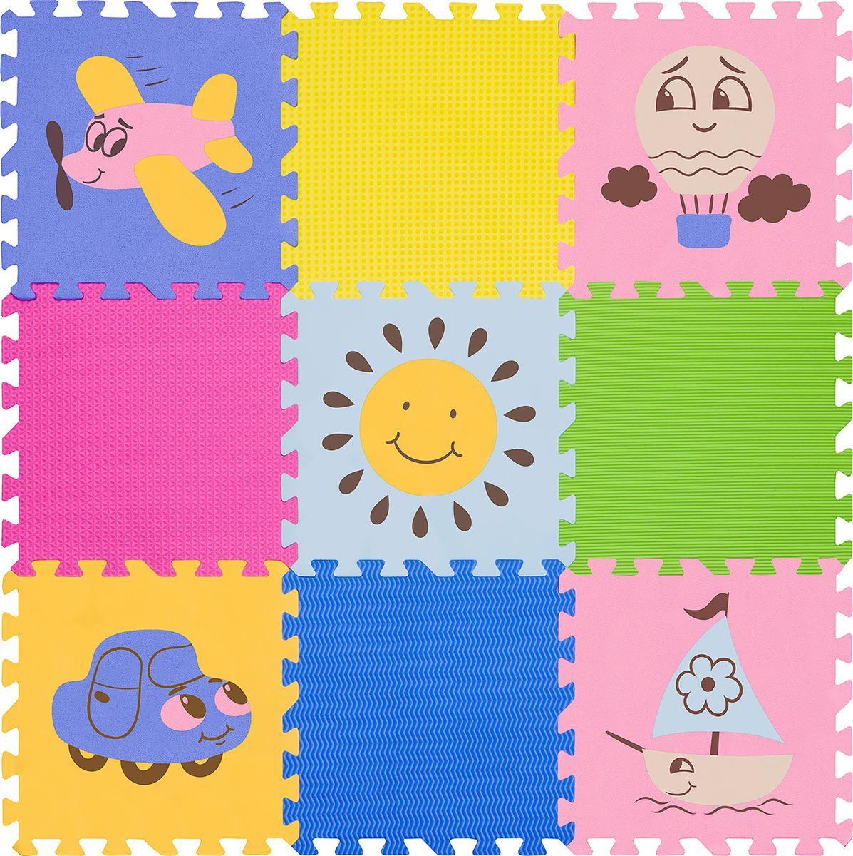 Funkids NT Коврик-пазл с рисунками Окружающий Мир KB-D201B-NT-05