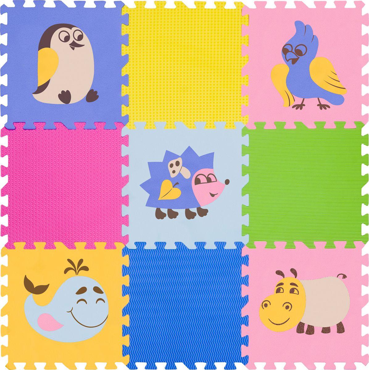 Funkids NT Коврик-пазл с рисунками Окружающий Мир KB-D201B-NT-06