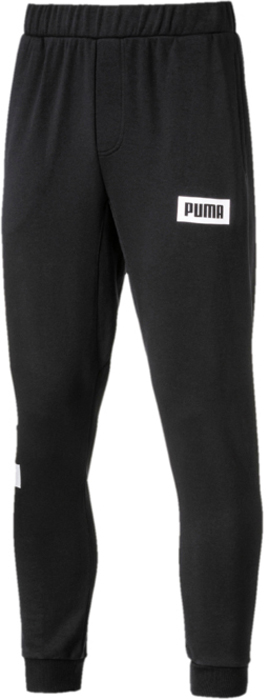 Брюки спортивные мужские Puma Rebel Sweat Pants Tr, цвет: черный. 85009001. Размер XXL (52/54) xim brand new compatible projector lamp bulb poa lmp57 610 308 3117 with housing for plc sw30 plc sw35 plc sw36