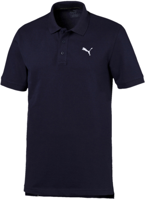 Поло мужское Puma ESS Pique Polo, цвет: темно-синий. 83824806. Размер XXL (52/54)