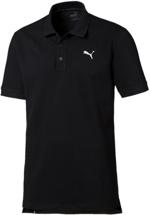 Поло мужское Puma ESS Pique Polo, цвет: черный. 83824801. Размер XXL (52/54)