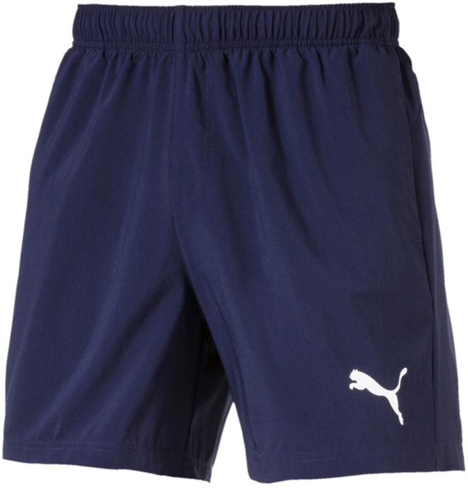 Шорты мужские Puma ESS Woven Shorts 5', цвет: синий. 83827149. Размер S (44/46) шорты спортивные puma puma pu053emiye01