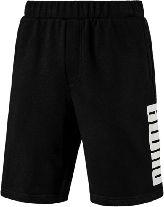 Шорты мужские Puma Rebel Sweat Shorts, цвет: черный. 85008801. Размер M (46/48) шорты мужские puma ftblnxt shorts цвет темно красный 65557302 размер m 46 48