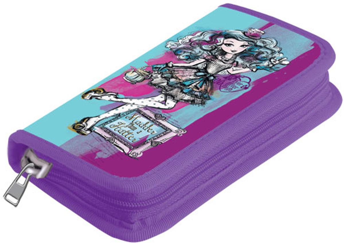 Mattel Пенал с наполнением Ever After High 9 предметов цвет фиолетовый голубой mattel фартук детский ever after high dragon game с нарукавниками