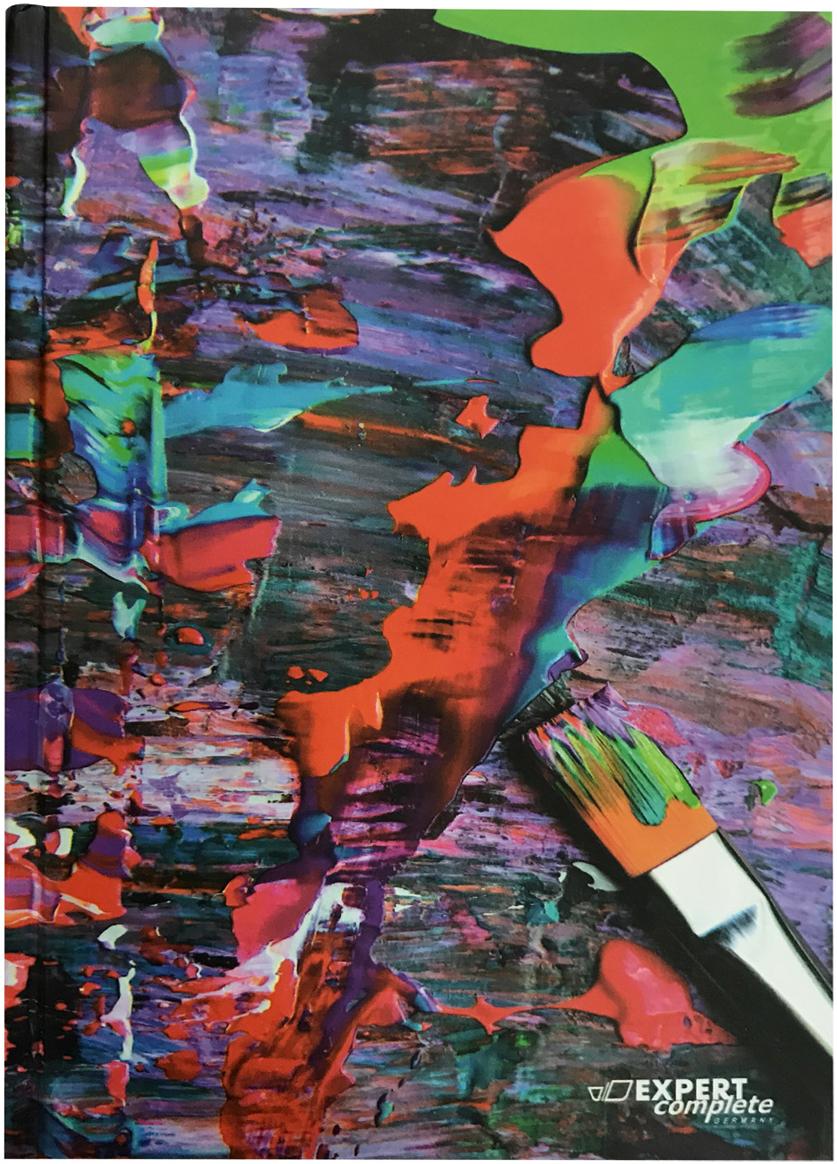Expert Complete Ежедневник Art недатированный 288 листов цвет разноцветный формат A5 maestro de tiempo ежедневник estilo недатированный 288 листов цвет бордовый формат a5