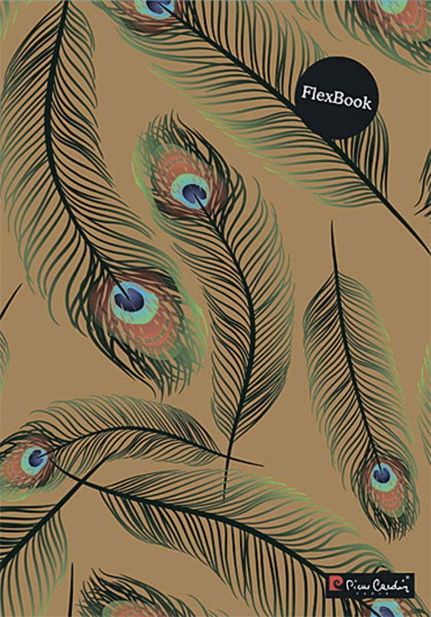 Pierre Cardin Тетрадь Peacock 80 листов в клетку цвет бежевый формат A4 ni30u m30 ap6x