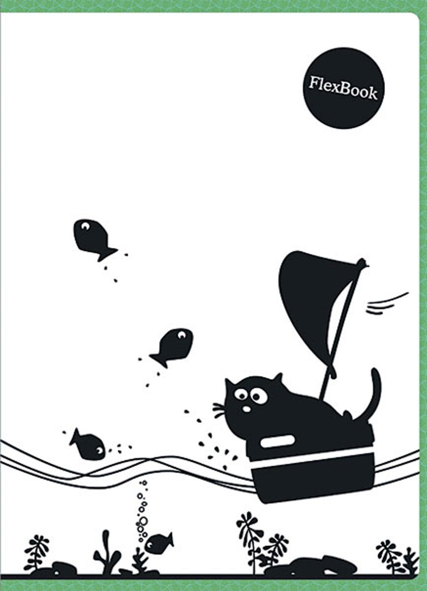 Expert Complete Тетрадь Animals 80 листов в клетку цвет белый черный зеленый формат A495103Тетрадь Flex Book с дизайнами Animals выполнена по инновационной технологии переплета,основанная на японской технологии Seihon, позволяет разворачивать тетрадь на 360 градусов.Формат тетради А4, внутренний блок тетради 80 листов в клетку. Мелованная картоннаяобложка увеличивает срок службы тетради. Flex Book идеально подходит для левшей. Сгибается,скручивается и складывается не ломаясь.