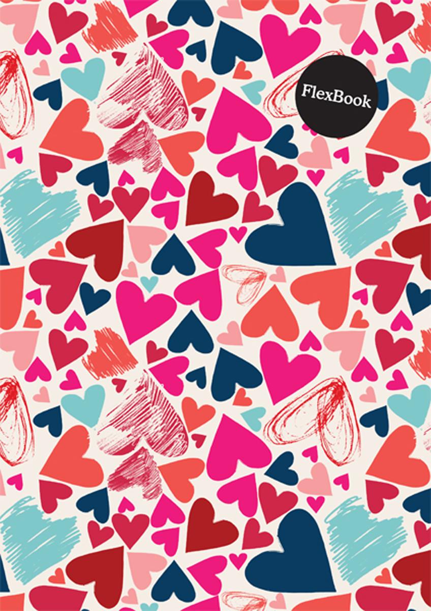 Expert Complete Тетрадь Hearts 80 листов в клетку цвет розовый формат A4 -  Тетради