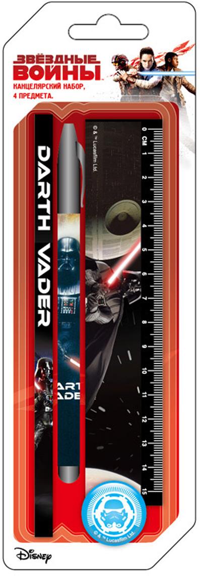 LucasFilm Настольный канцелярский набор Star Wars 4 предмета цвет белый