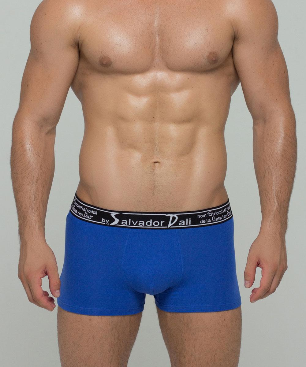 Трусы-боксеры мужские By Salvador Dali, цвет: синий. SD2024-2. Размер L (48)SD2024-2Мужские трусы-боксеры от бренда by Salvador dali выполнены из премиальной, хлопковой ткани. Широкая резинка исключает ощущение дискомфорта в области талии. Классика стиля, высокотехнологичная обработка швов, правильные анатомические лекала обеспечивают максимальный комфорт и подчеркивают незаурядность современного мужчины.