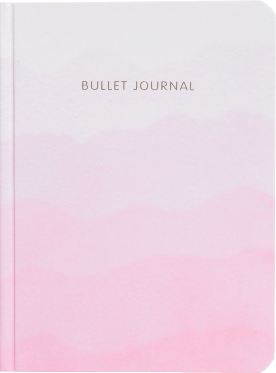 Блокнот в точку. Bullet Journal блокнот в точку bullet journal акварель 162x210 мм 160 стр
