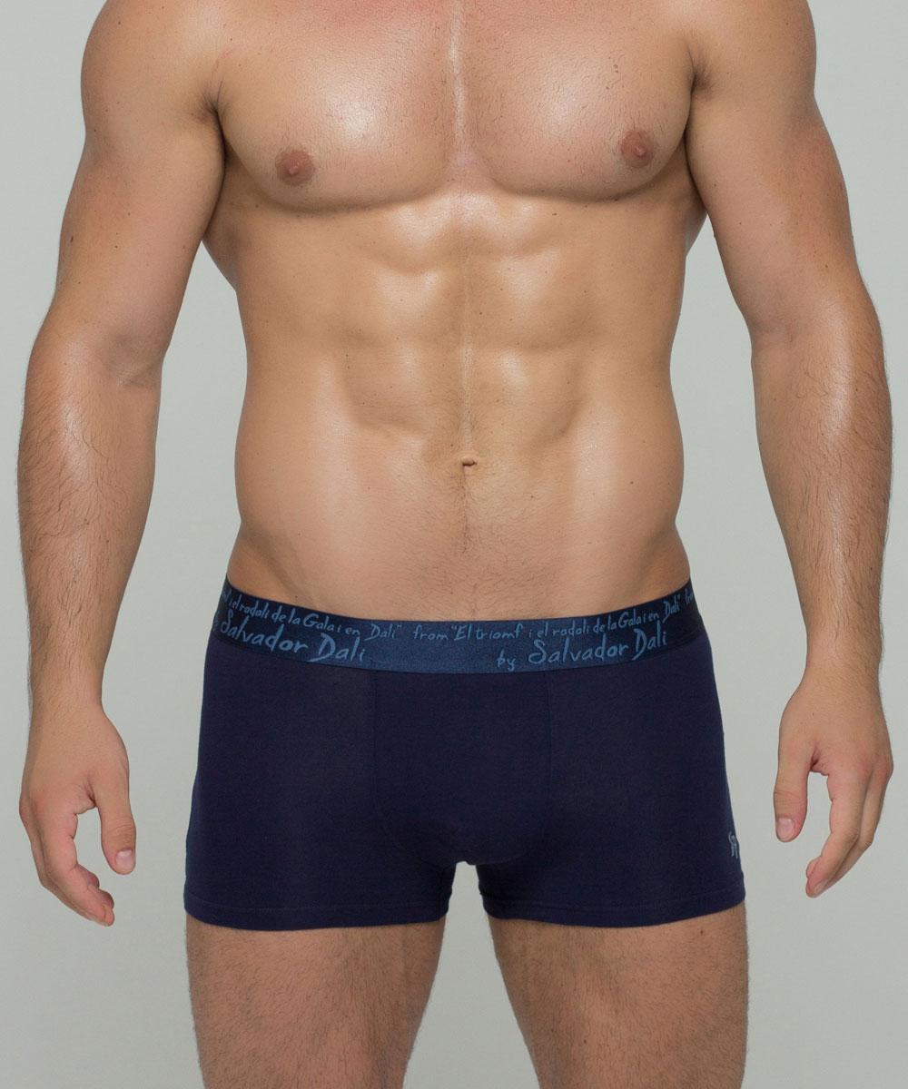 Трусы-боксеры мужские By Salvador Dali, цвет: темно-синий. SD2022-4. Размер XXL (52)