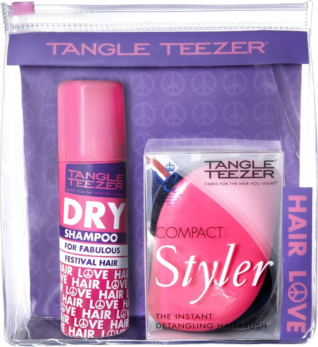 Tangle Teezer Набор Festival Pack сухой шампунь и расческа шампунь хербал эсенсес купить в киеве